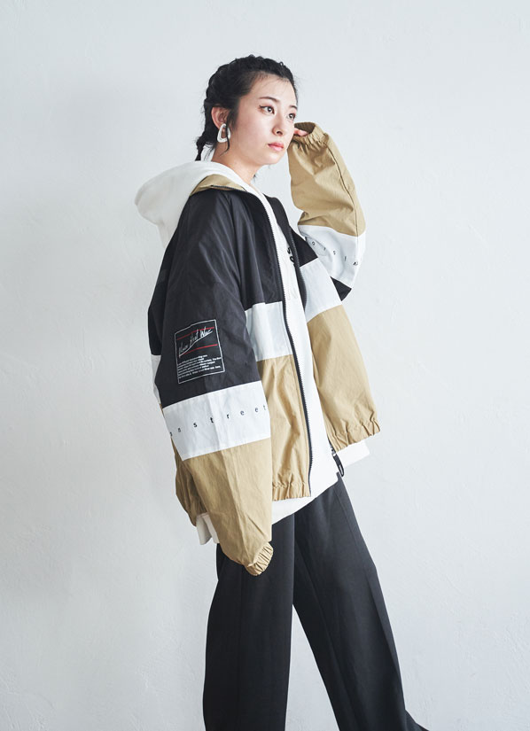 ーNYLON100% Track jacketー