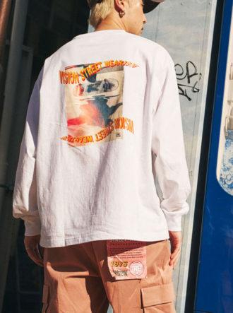 ーvintage long sleeve t-shirtー